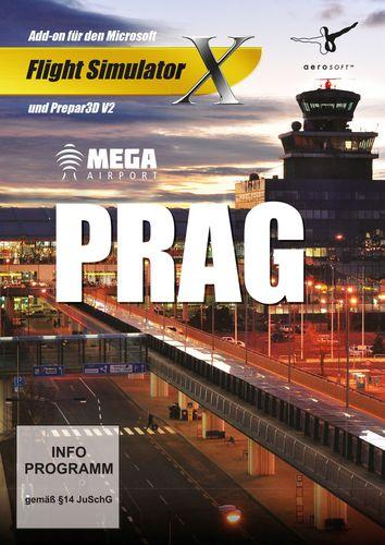 Prag Mega Airport für FSX und Prepar3D V3 [Add-On] [DVD]