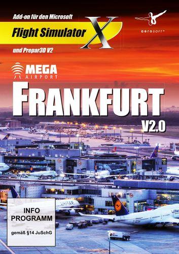 Frankfurt V2.0 Mega Airport für FSX und Prepar3D V3 [Add-On] [DVD]