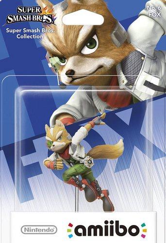 amiibo Super Smash Bros. Character No. 06 - Fox