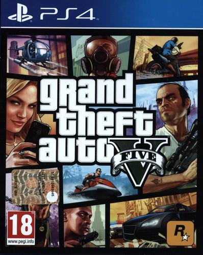 GTA 5 - Grand Theft Auto V [PS4]