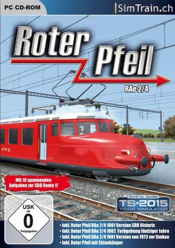 Roter Pfeil RAe 2/4 für TS2012-TS2015 [Add-On]