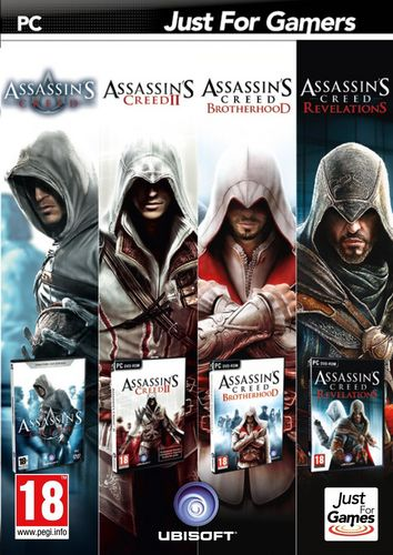 Quadruple Pack : Assassin's Creed [DVD]