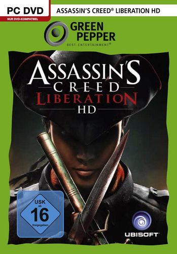 Green Pepper: Assassin's Creed Liberation HD [DVD]