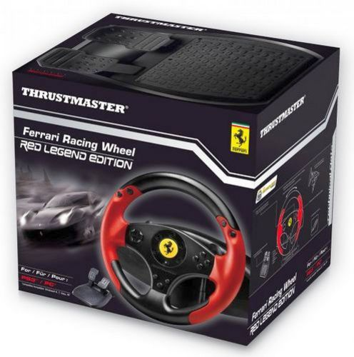 Ferrari Racing Wheel Red Legend Edition