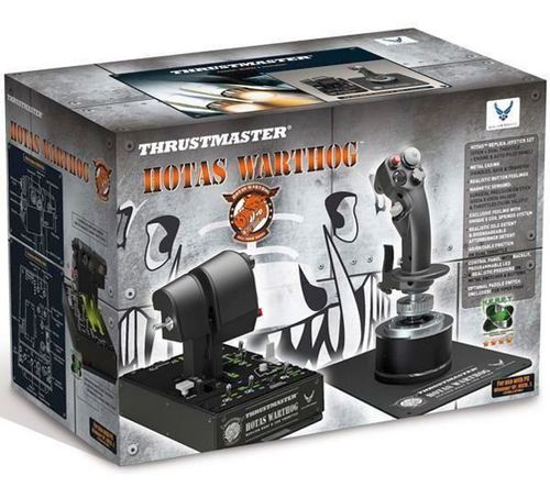Hotas Warthog Flight Stick + Dual Throttle