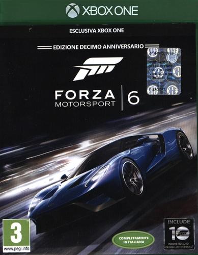 Forza Motorsport 6 - Edizione Decimo Anniversario [XONE]