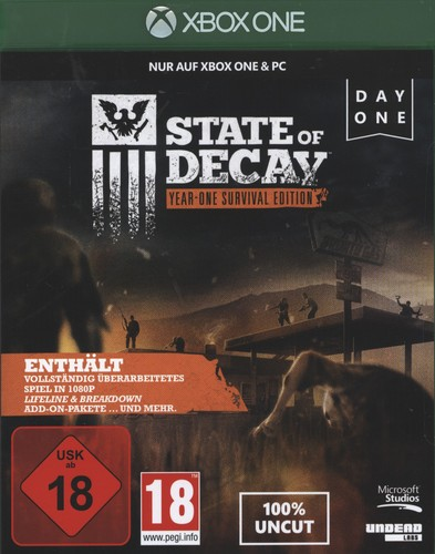 State of Decay - Year-One Survival Edition [XONE]