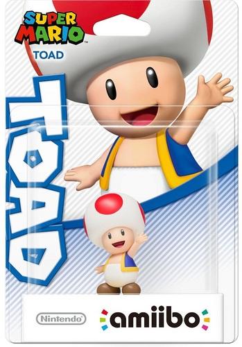 amiibo Super Mario Character - Toad
