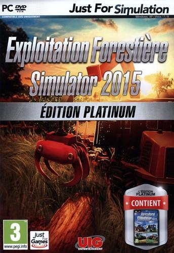 Exploitation Forestière Simulator 2015 - Édition Platinum [DVD]