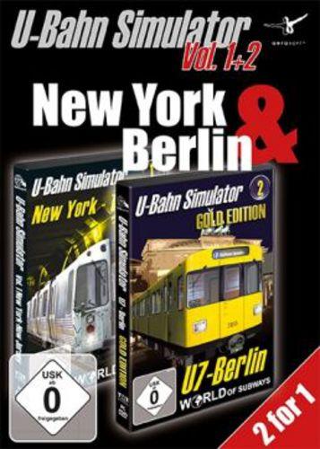 U-Bahn Simulator Vol. 1+2 - New York & Berlin [DVD]
