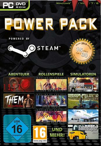Steam Power Pack - Deluxe Edition 2014 [DVD]
