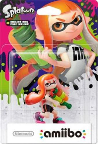 amiibo Splatoon Character - Inkling Girl orange