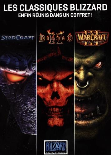 Coffret Blizzard : Diablo 2+Starcraft+Warcraft 3+les extensions