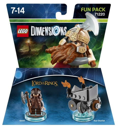 LEGO Dimensions Fun Pack - The Lord of the Rings Gimli