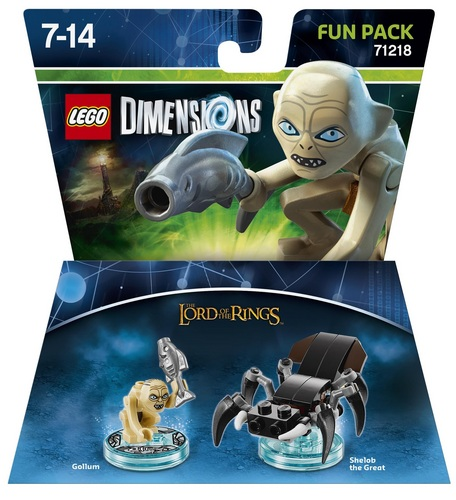 LEGO Dimensions Fun Pack - The Lord of the Rings Gollum