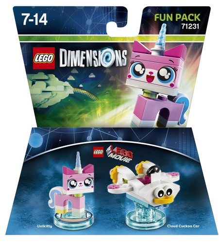 LEGO Dimensions Fun Pack - LEGO Movie Unikitty