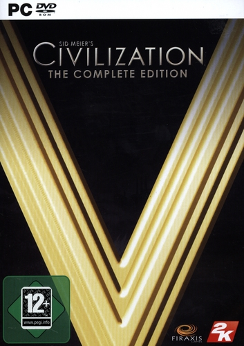 Pyramide: Sid Meier's Civilization V The Complete Edition [DVD]