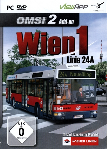 OMSI 2: Wien 1 - Linie 24A [Add-On] [DVD]