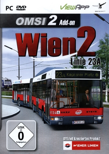OMSI 2: Wien 2 - Linie 23A [Add-On] [DVD]