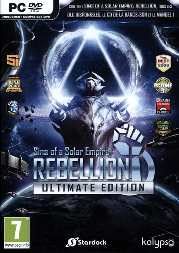 Sins of a Solar Empire : Rebellion - Ultimate Edition [DVD]