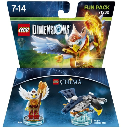 LEGO Dimensions Fun Pack - Chima Eris
