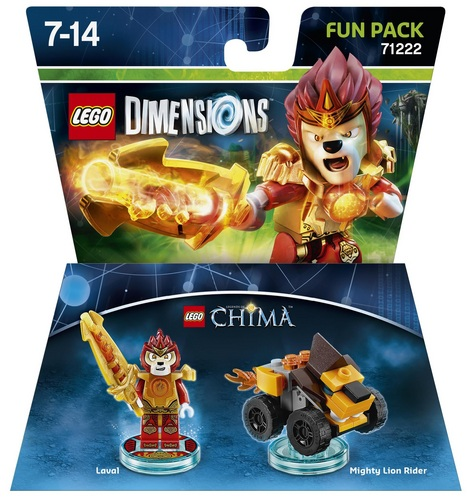 LEGO Dimensions Fun Pack - Chima Laval