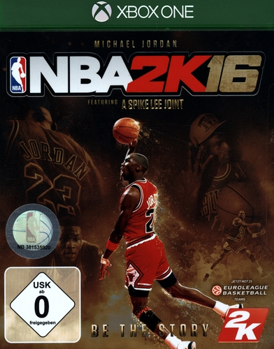 NBA 2K16 Michael Jordan Edition [XONE]