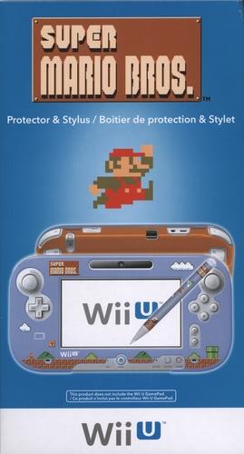 Super Mario Bos. Mario Maker Protector & Stylus