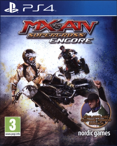 MX vs ATV: Supercross Encore [PS4] (F/E)