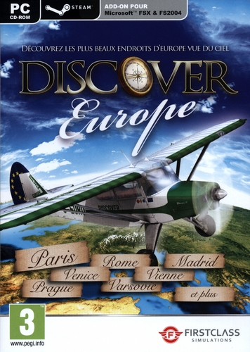Discover Europe - FX Steam Edition pour FSX & FS2004 [Add-On]