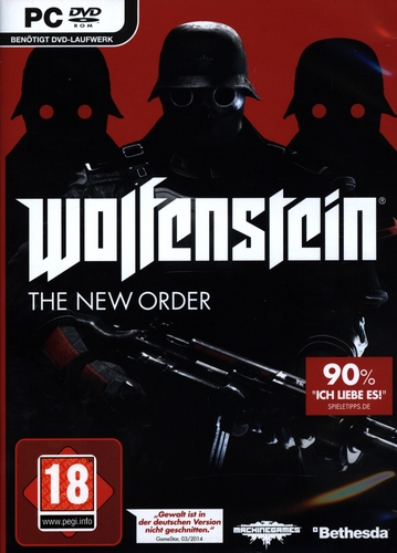 Pyramide: Wolfenstein - The New Order [DVD]