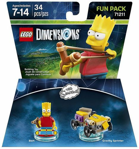 LEGO Dimensions Fun Pack - The Simpsons Bart