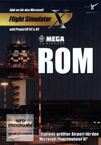 Rom Mega Airport für FSX und Prepar3D V2 & V3 [Add-On]
