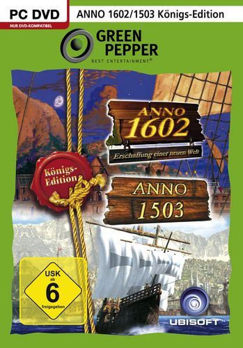 Green Pepper: Anno 1503 + Anno 1602 Königsedition [DVD]