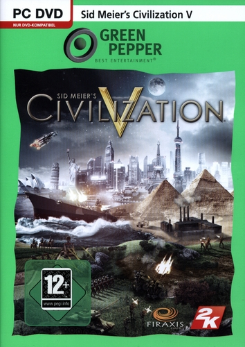 Green Pepper: Sid Meier's Civilization V [DVD]