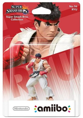 amiibo Super Smash Bros. Character No. 56 - Ryu
