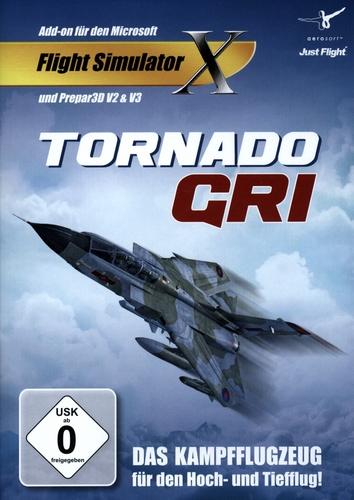 Tornado GRI für FSX und Prepar3D V2/V3 [Add-On] [DVD]