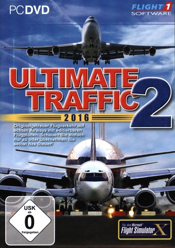 Ultimate Traffic 2 2016 für FSX [Add-On] [DVD]