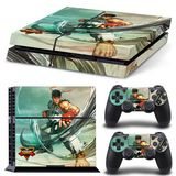 Street Fighter V Console Sticker Kit - Mitts [PS4]