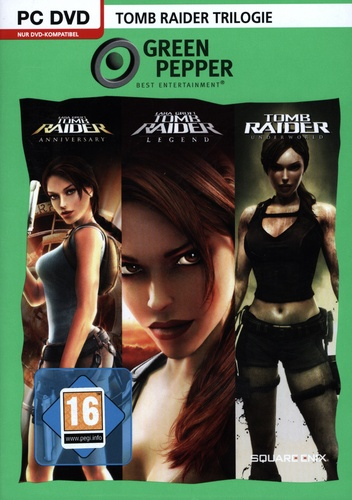Green Pepper: Tomb Raider Trilogie [DVD]