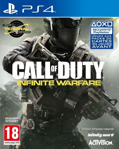 Call of Duty: Infinite Warfare - Standard Edition inkl. Terminal [PS4]