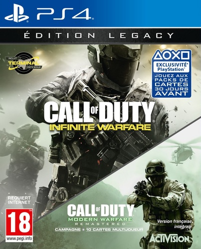 Call of Duty: Infinite Warfare - Legacy Edition inkl. Terminal [PS4]