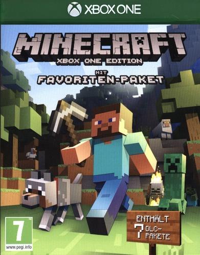 Minecraft Xbox One Edition - Mit Favoriten-Paket [XONE]