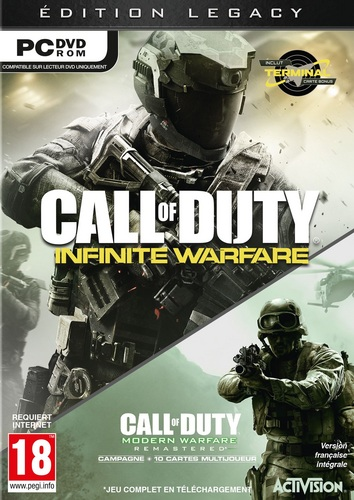 Call of Duty: Infinite Warfare - Legacy Edition inkl. Terminal [DVD]