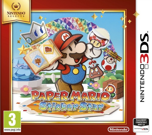Nintendo Selects : Paper Mario - Sticker Star