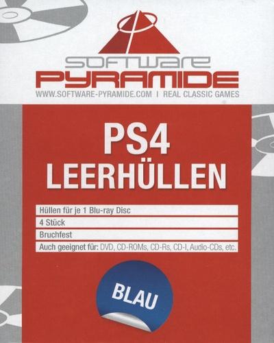 PS4-Leerhüllen 4er-Pack