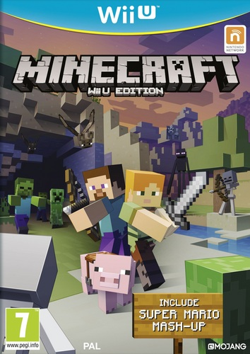 Minecraft Wii U Edition - Include Super Mario Mash-Up