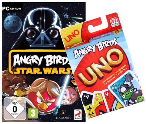 Angry Birds Star Wars Bundle inkl. UNO Kartenspiel (E/d)