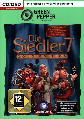 Green Pepper: Siedler 7 - Gold Edition [DVD]