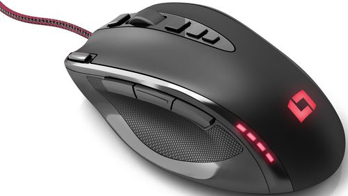 Lioncast LM20 Gaming Mouse 16400 DPI - black